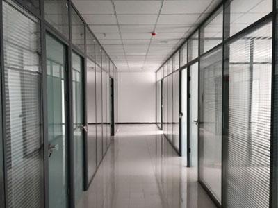 百叶窗玻璃隔断