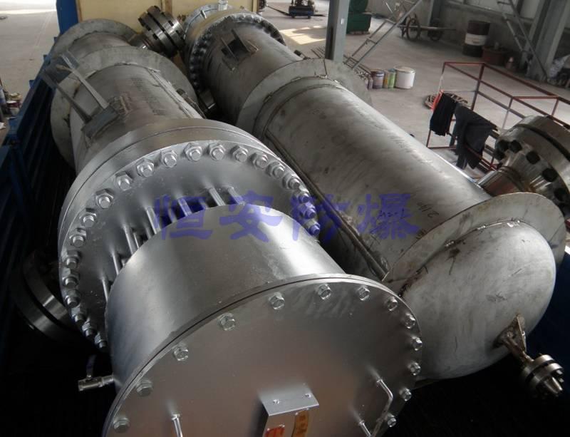 高温高压氢气防爆电加热器