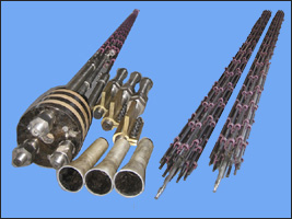 三相悬挂式合成塔电加热器