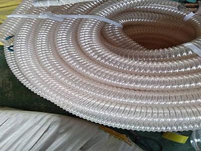 透明钢丝增强管