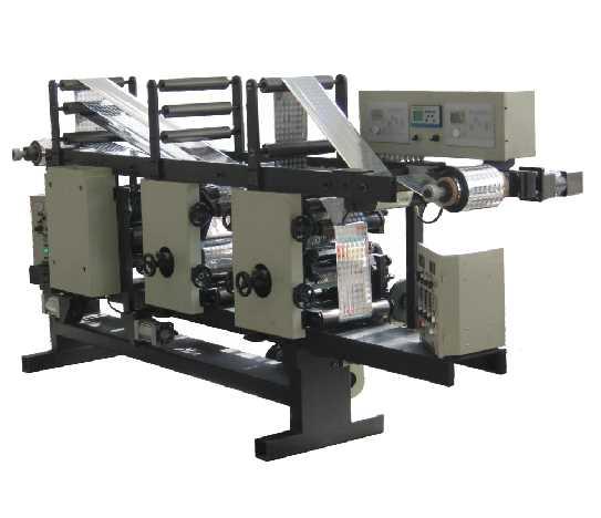 ZHEGP-300激光全息磨压凹版印刷组合机