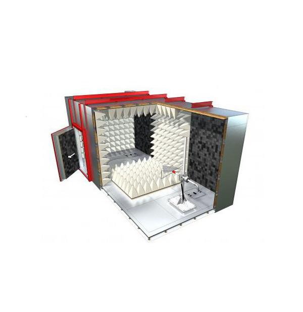 3米法紧凑复合型暗室