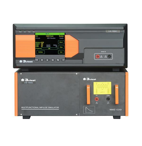 雷电感应瞬态敏感度测试系统