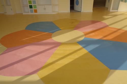 幼儿园PCV运动地板