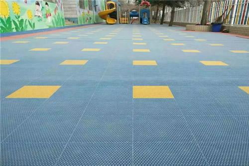 幼儿园拼装地板悬浮式
