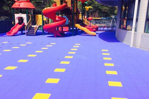 幼儿园悬浮式拼装地板厂家