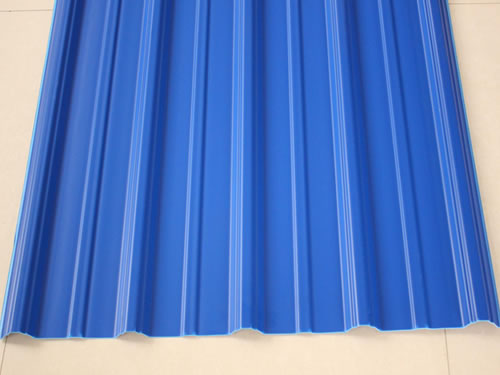 蓝色防腐瓦