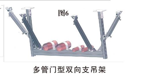 多管门型双向抗震支吊架