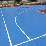 校园室外篮球地板