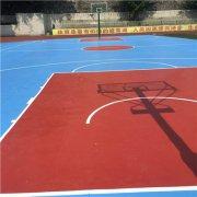 室外篮球运动地板