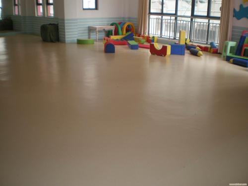 塑胶地板施工