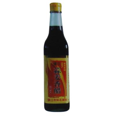 镇江蒜姜香醋