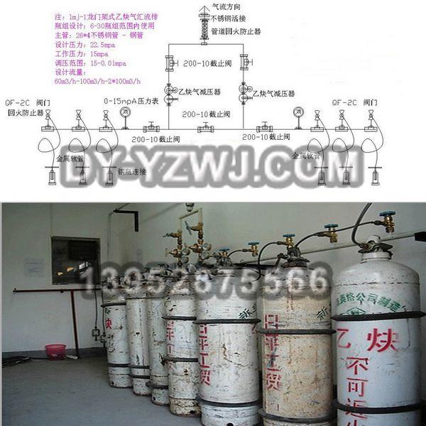 eq-18型乙炔汇流排