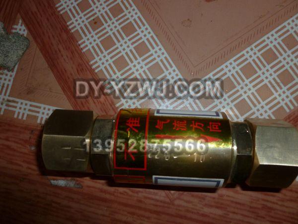 QD200-10/15/20气体单向阀逆止阀