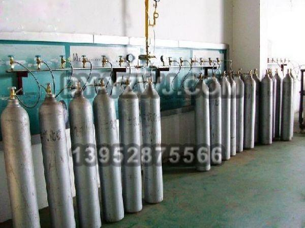 气体充装排生产