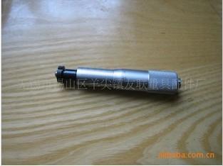 0-25mm圆头带螺母精密微分头