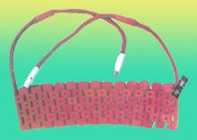 LCD履带式电加热器型号规格额定参数