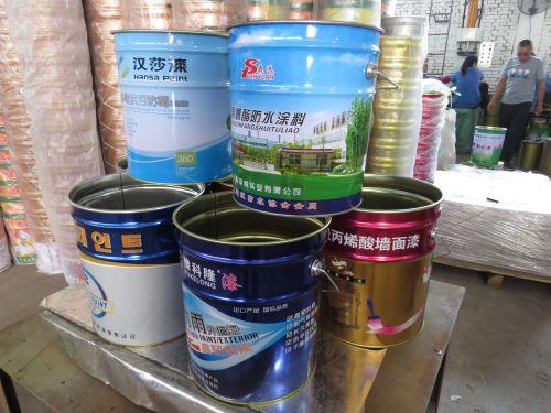 包装铁桶生产