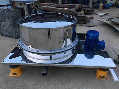 平板式人工卸料離心機