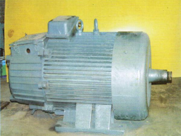 修复后的YZR电机