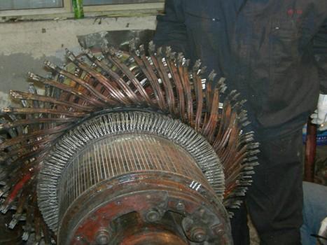 牵引电机修理厂