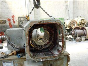 直流電機定子檢修