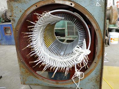 高壓電機維修下線