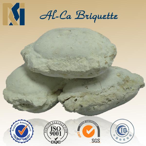 CaAl briquette