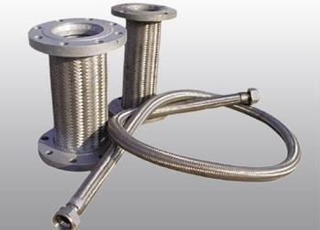齐发国际_不锈钢铁氟龙金属软管