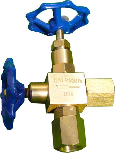 J29W-160P(320P)压力表针型阀