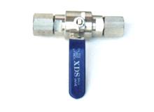 YZ9-3 QG.M1压力表球阀
