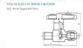 YZQ-1B终端卡箍式球阀