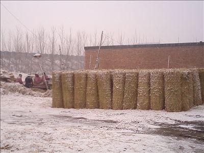 小型稻草编织机