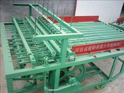 苇草编织机