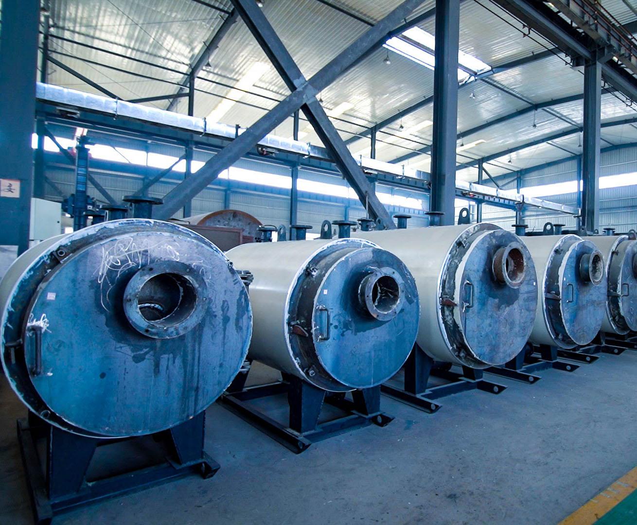 全预混低氮铸铝冷凝锅炉