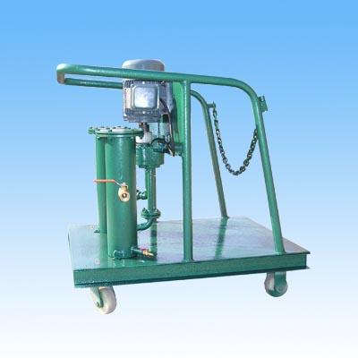 带桶式加油滤油车