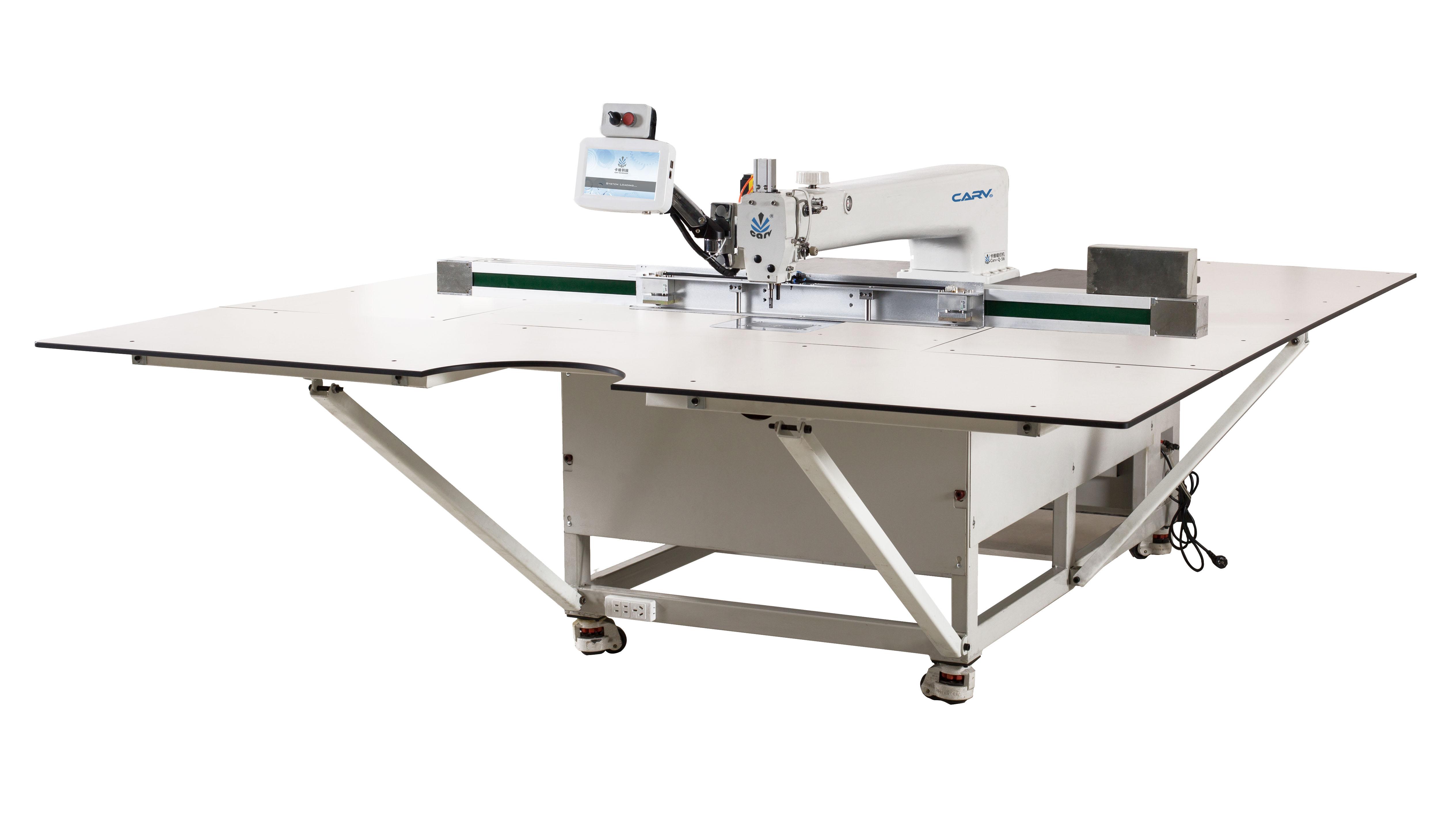 自动模板缝纫机