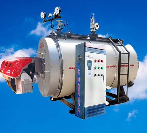 间接式承压燃油气热水锅炉