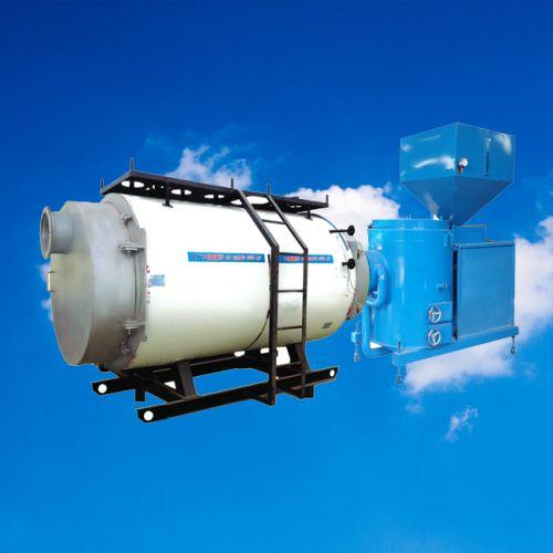 燃生物质气蒸汽锅炉