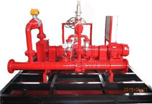 水电混合驱动型平衡式比例混合装置