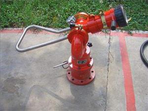 固定式消防水炮