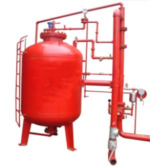 泡沫水喷淋联用自动灭火装置
