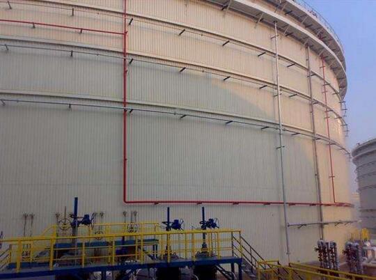 储罐水喷淋、水喷雾消防冷却装置
