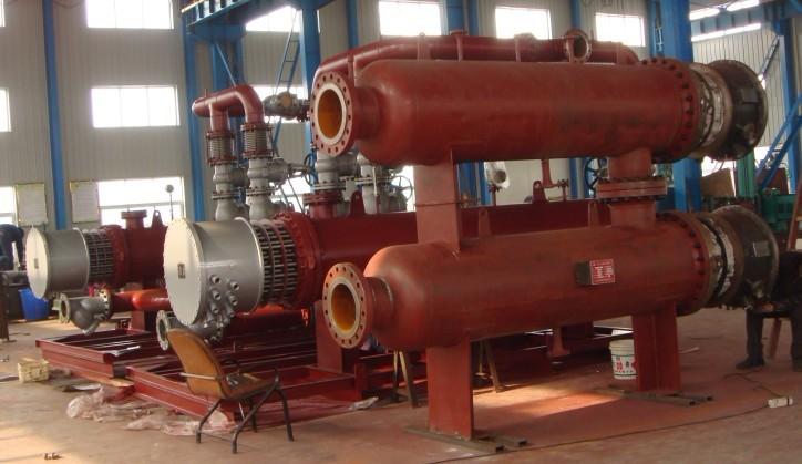 300KW导热油电加热系统