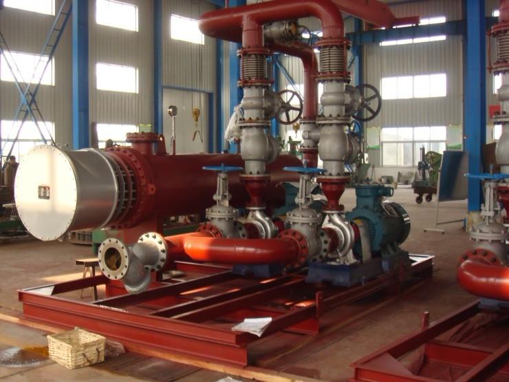 4000KW导热油电加热器