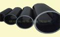 全新料黑色HDPE塑料给排水管材管件 环保型
