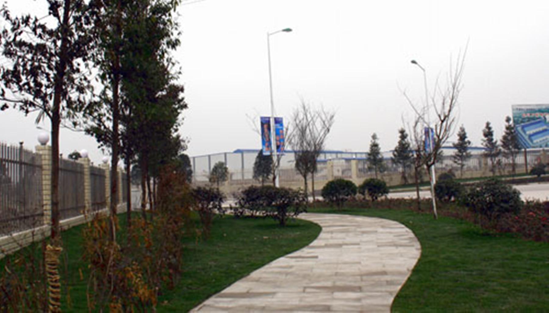 工业绿化景观