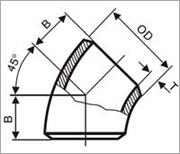 钢制对焊无缝弯头