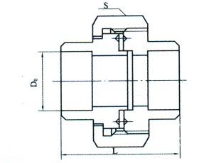焊接式活接头