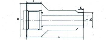 双金属温度计直形管嘴|斜形管嘴